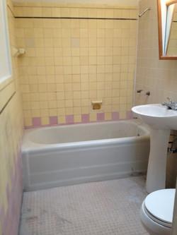 Here's a 1920s bath