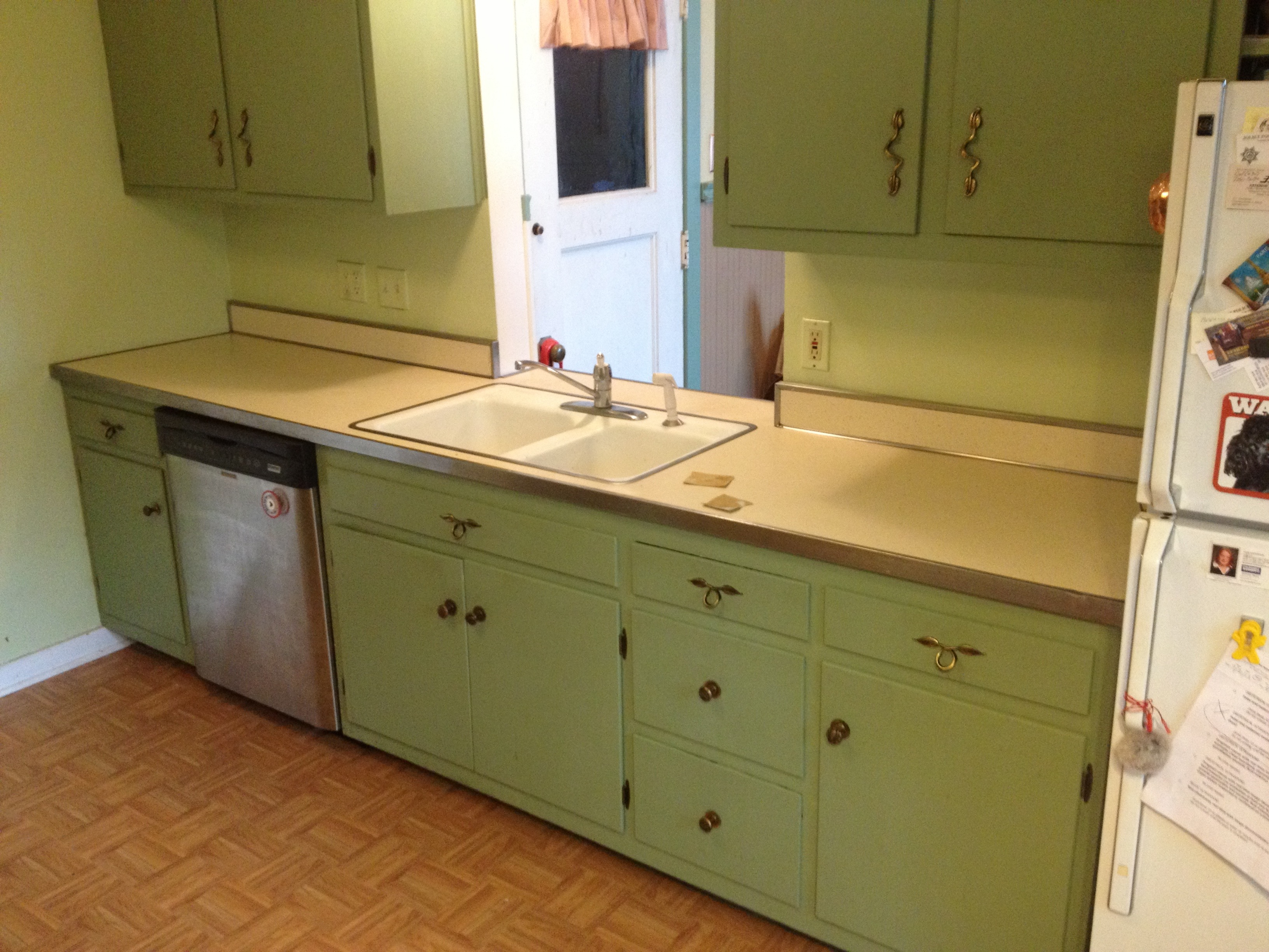 "1940s kitchen ""Before"""