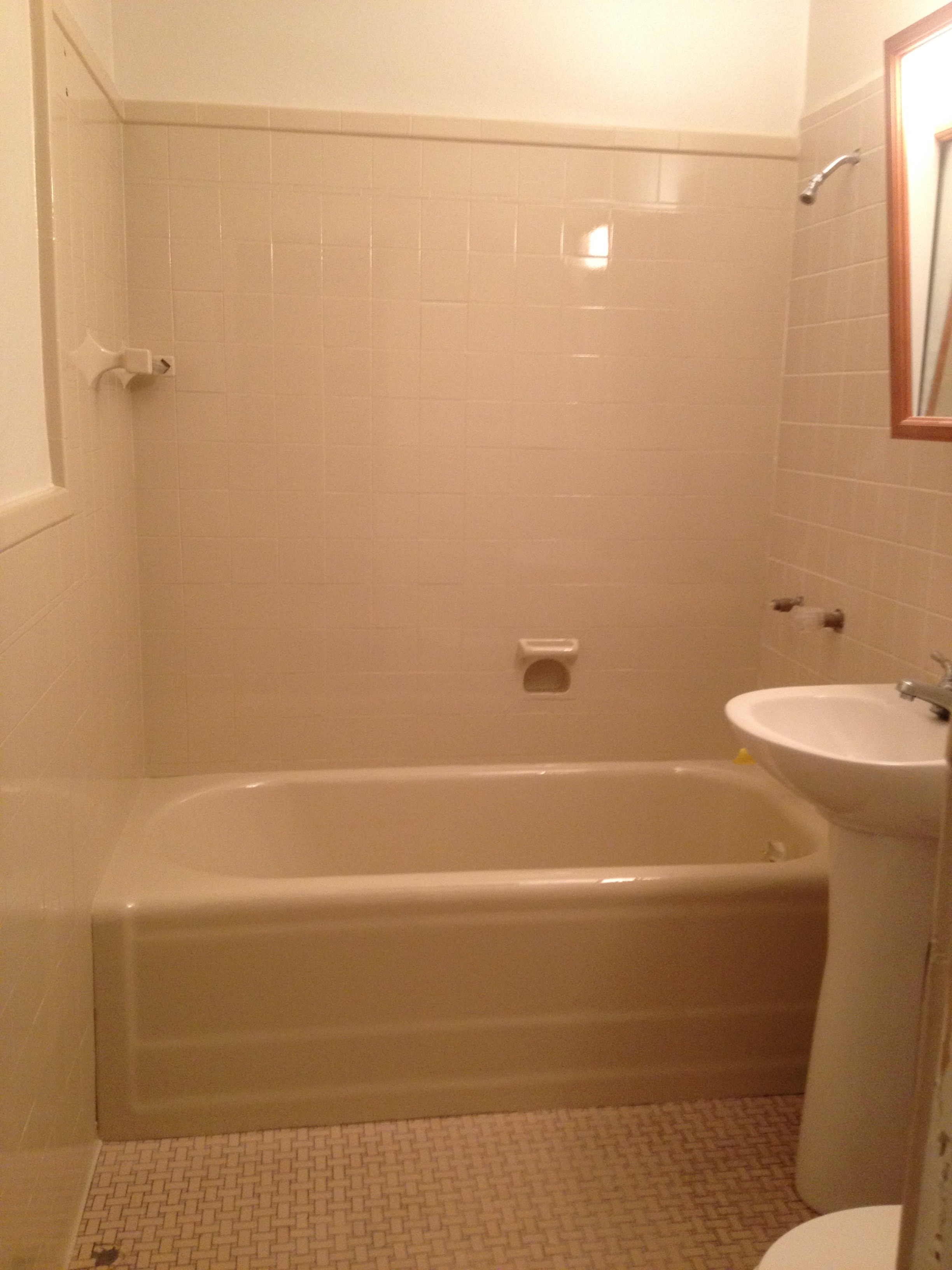 1920s bath refinished