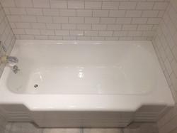 Scoured tub looking great again