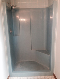 Shower from 1980s