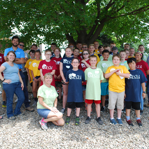 M.S.T. Camp - Campers & NextEra Energy Volunteers