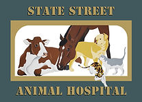 State Street Animal Hospital Logo