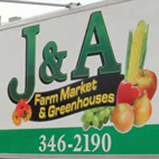 J&A Farm Market Logo