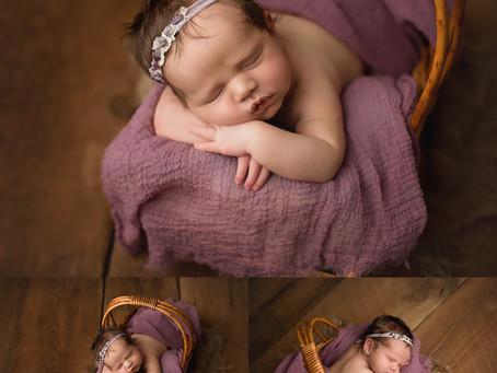 Emily - Newborn Session - Studio - Cincinnati, Northern Kentucky