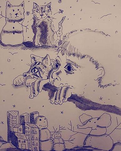 Snowday_#illustrator_#childrensbookillus
