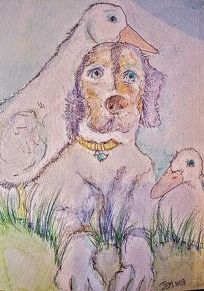Dog with friends Sz..jpg