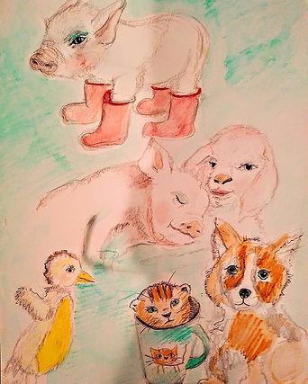 Little friends_#piggiesofinstagram#pigsa