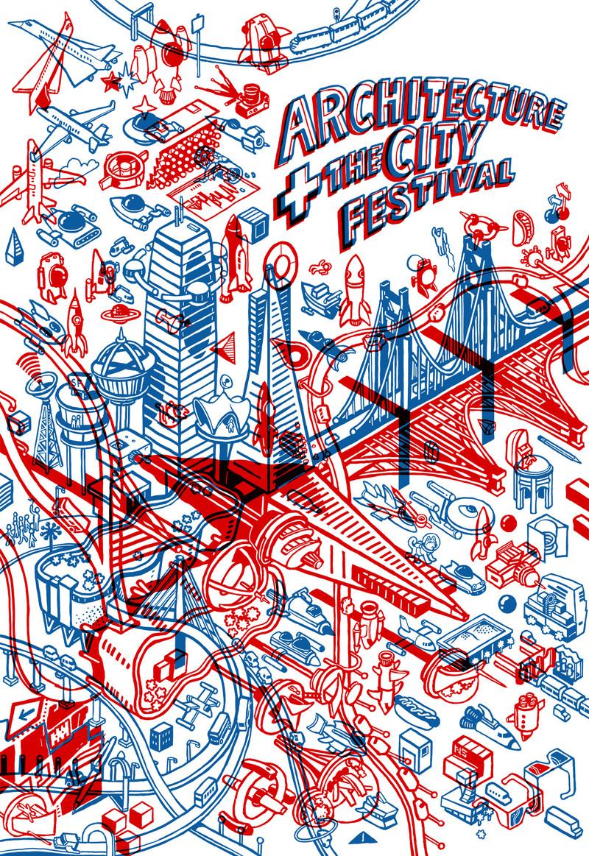 Architecture + The City Festival Poster 2018