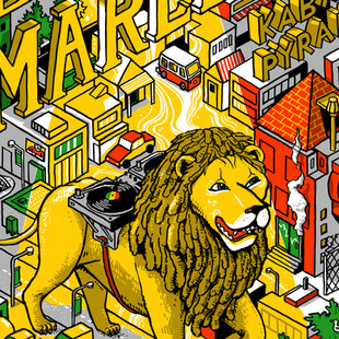 Damian Marley Poster