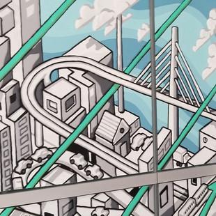 SF Transit Center Mural