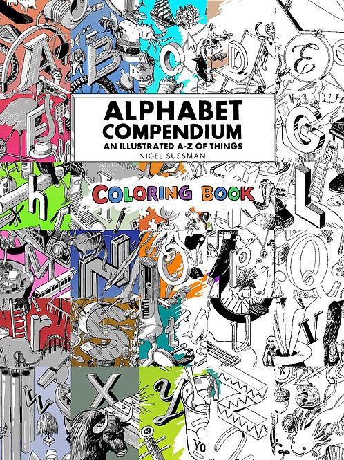 Alphabet Compendium Coloring Book