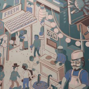 Taro San Mural