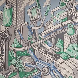 Leamington Gym Mural
