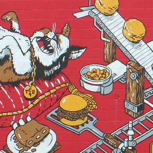 CatHead's BBQ Mural