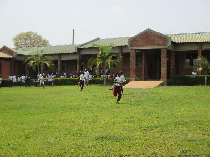 Sports Day at Crownhill School