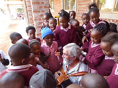 Monsier Yvon and some students
