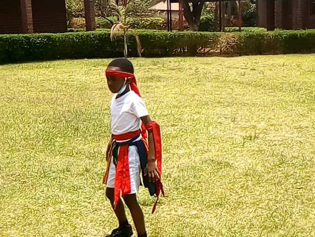 Chonde Performs Vimbuza Traditional Dance