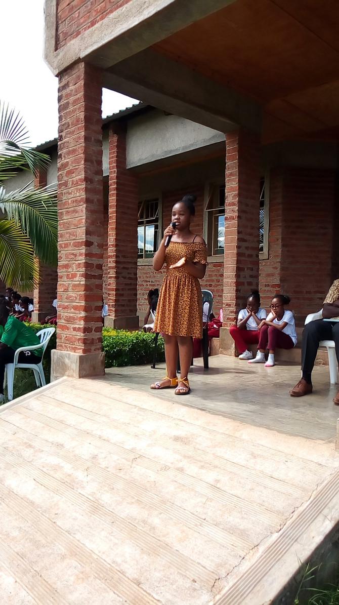 Former Pupil (Wezi Kanowa) Gives Motivational Speech