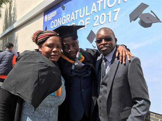 Mr Musanshi Graduates!