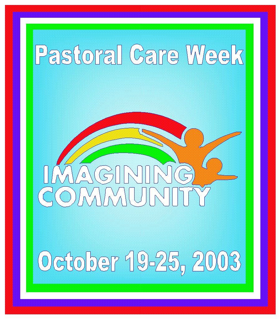 2003 Pastoral Care Week