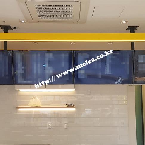 P브랜드 전국매장 디지털 메뉴보드 구축