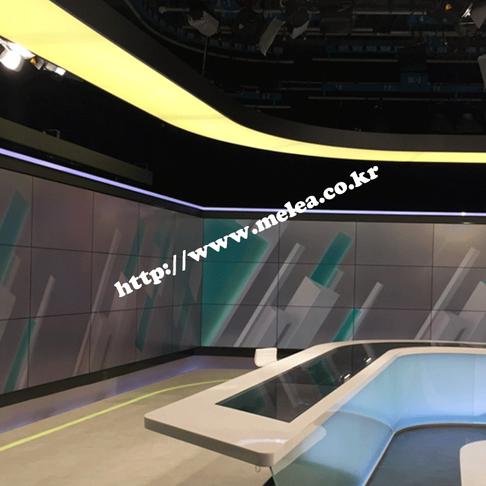 SBS 뉴스 스튜디오 비디오월 영상 시스템 구축