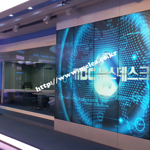 MBC 뉴스 스튜디오 비디오월 구축