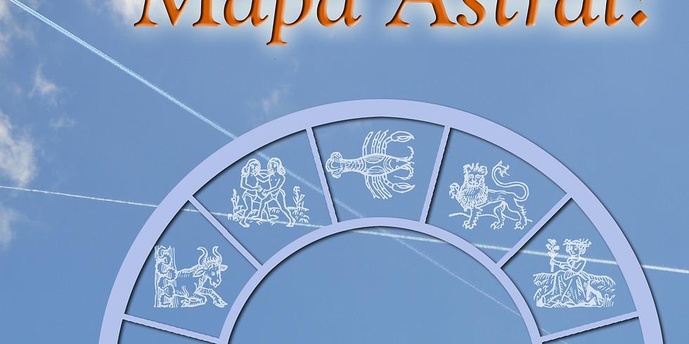 """Palestra """"O que é o Mapa Astral, afinal?"""" - com Eliane Muniz"""