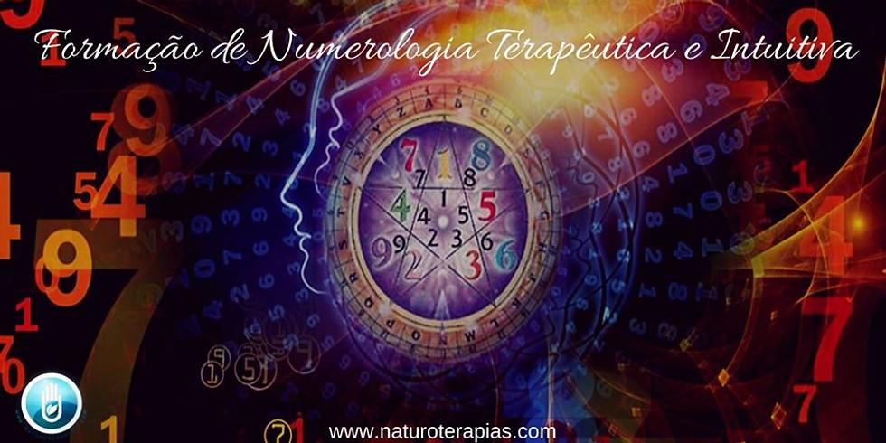 Formação de Numerologia Terapêutica e Intuitiva