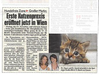 Katzenpraxis Wien, Dr. Garzik & Dr. Hoyer OG, Tierarzt und Katzenarzt