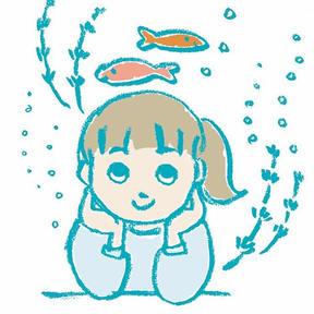 最近金魚が可愛くて。