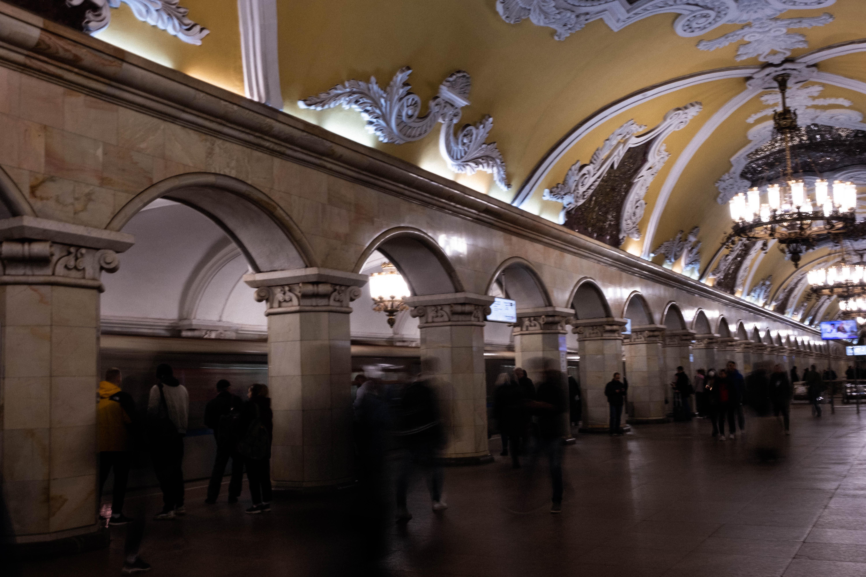 Le métro moscovite