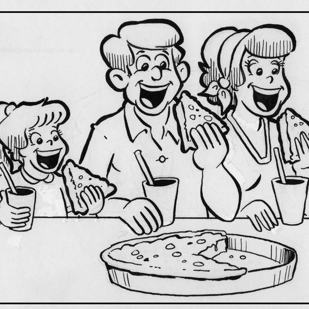 """Deep Dish Pizza"""