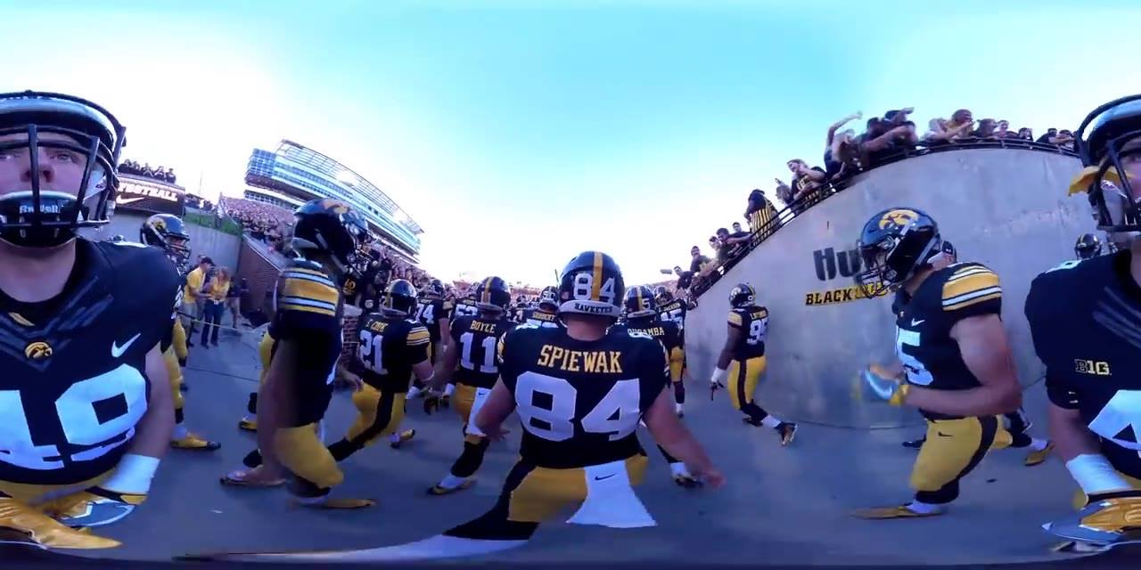 Swarm Under the Lights In Kinnick