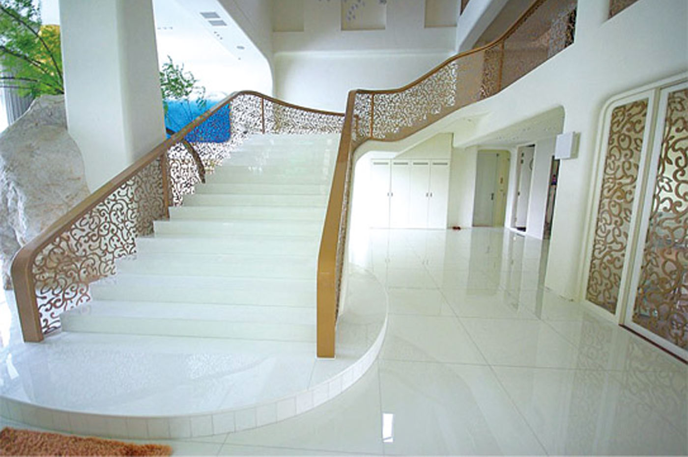 Nano stone stairs