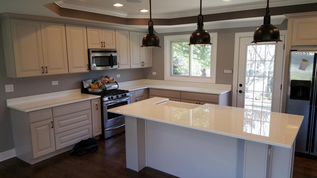 Nano stone kitchen countertop
