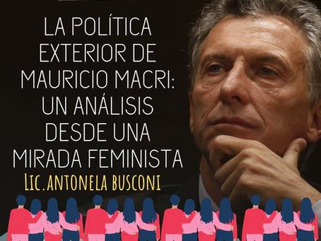 APEA 32: La política exterior de Mauricio Macri: un análisis desde una mirada feminista