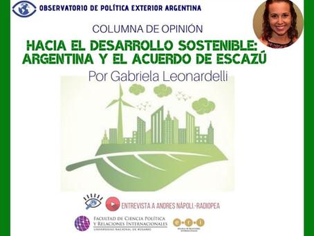 Hacia el Desarrollo Sostenible: Argentina y el Acuerdo de Escazú