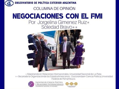 Negociacionescon el FMI