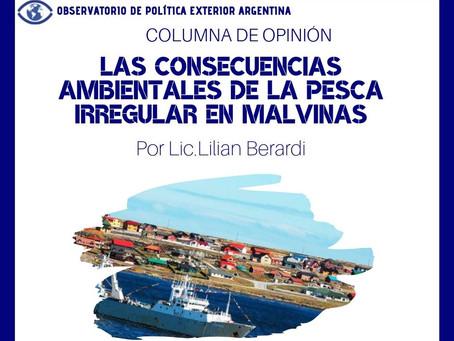 Las consecuencias ambientales de la pesca irregular en Malvinas