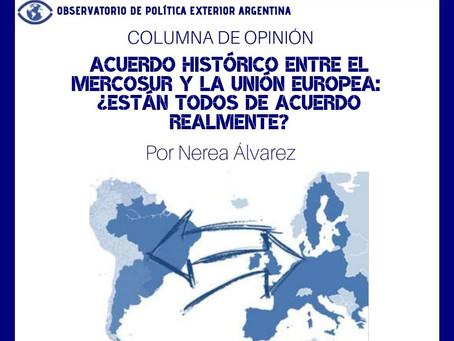 Acuerdo histórico entre el Mercosur y la Unión Europea: ¿están todos de acuerdo realmente?