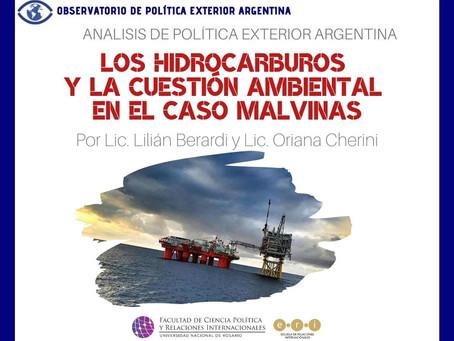 APEA 36: Los hidrocarburos y la cuestión ambiental en el caso Malvinas