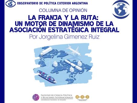 La Franja y la Ruta: un motor de dinamismo de la Asociación Estratégica Integral