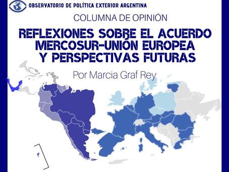 Reflexiones sobre el Acuerdo Mercosur-Unión Europea y perspectivas futuras