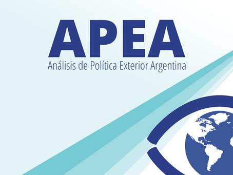 APEA 30: Relación Bilateral Argentina- España