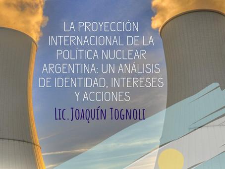 APEA 31: La proyección internacional de la política nuclear argentina