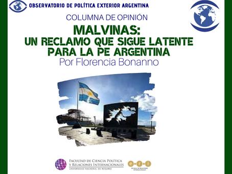 Malvinas: un reclamo que sigue latente para la PE Argentina