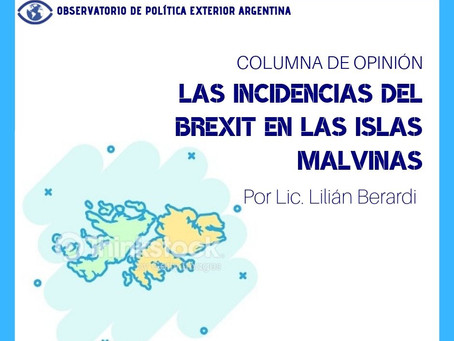 Las incidencias del Brexit en las islas Malvinas