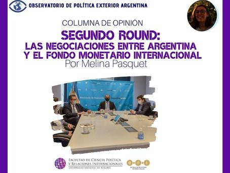 Segundo round: las negociaciones entre Argentina y el Fondo Monetario Internacional
